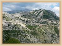 Gebirge Biokovo - Naturpark