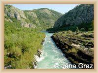 Fluß Neretva