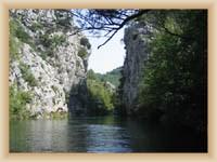 Fluß Cetina