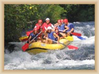 Fluß Cetina - Rafting