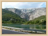 Tal des Flusses Cetina
