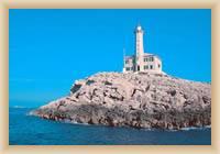 Inseln Kornaty - Leuchtturm Blitvenica