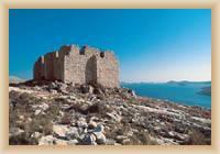 Inseln Kornaty - alte Zitadelle