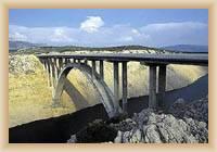 Brücke in Maslenica