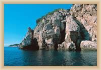 Insel Mljet - Küste