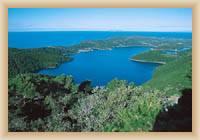 Insel Mljet - Kleiner see