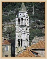 Insel Vis - Kirche St. Cyprian - Glockenturm