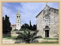 Insel Vis - Kloster in Pirovo