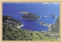 Insel Mljet - Prozura
