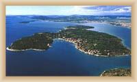 Insel Prvič - Gesamtansicht