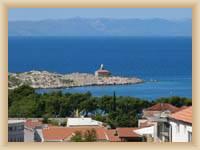 Leuchtturm in Makarska
