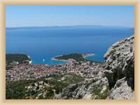 Makarska - Gesamtansicht
