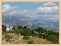 Gebirge Mosor