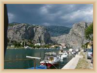 Omis - Hafen