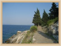 Trpanj - Promenadenweg Lungo Mare