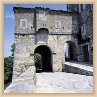 Motovun - Renaissancebastei mit dem Stadttor