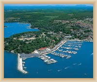 Vrsar - Hafen