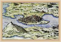 Osor - Alte Karte